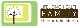 lifelong health family chiropractic studio logo